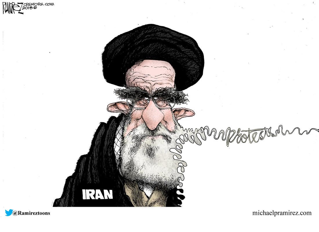 Image result for Ali Khamenei CARTOON