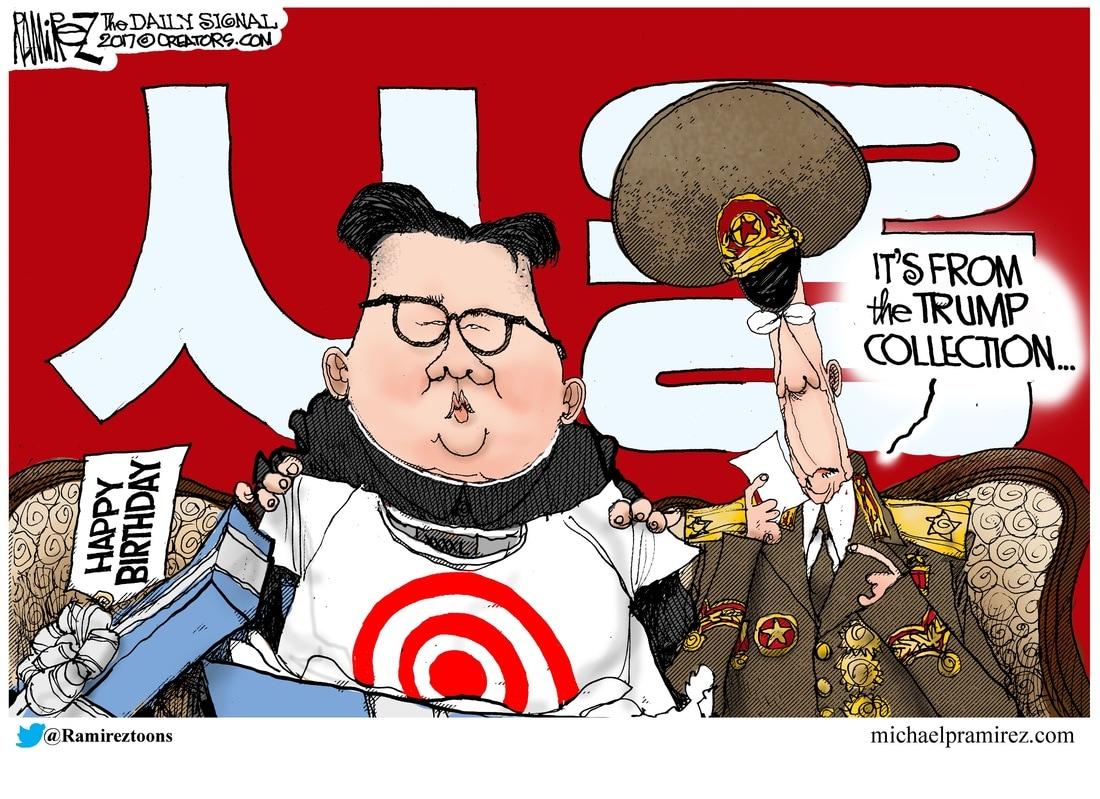 Image result for policies trump ramirez cartoon