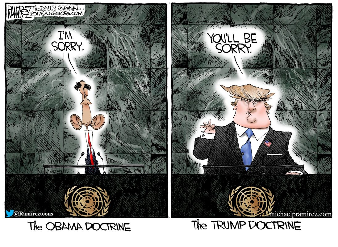 Image result for obama policies trump ramirez cartoon