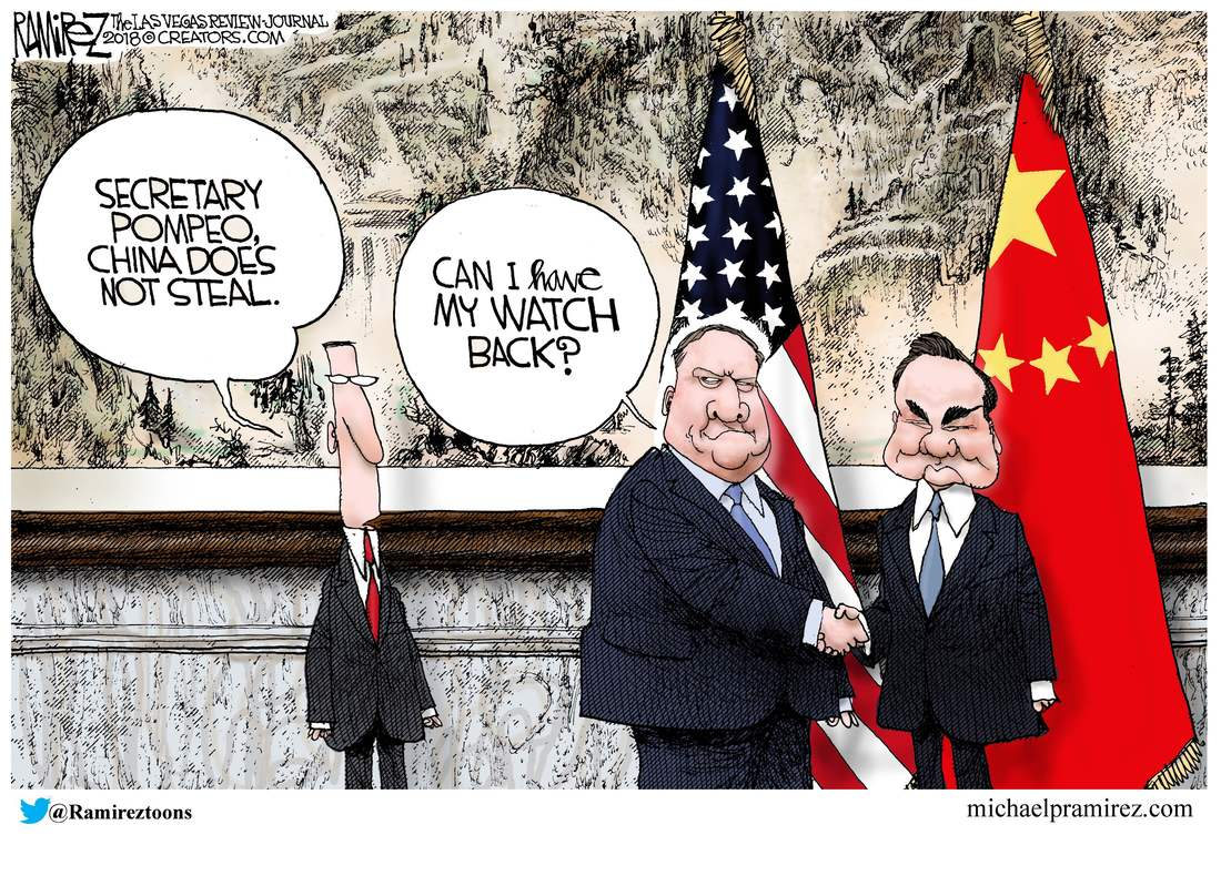 china trade policy michael p ramirez