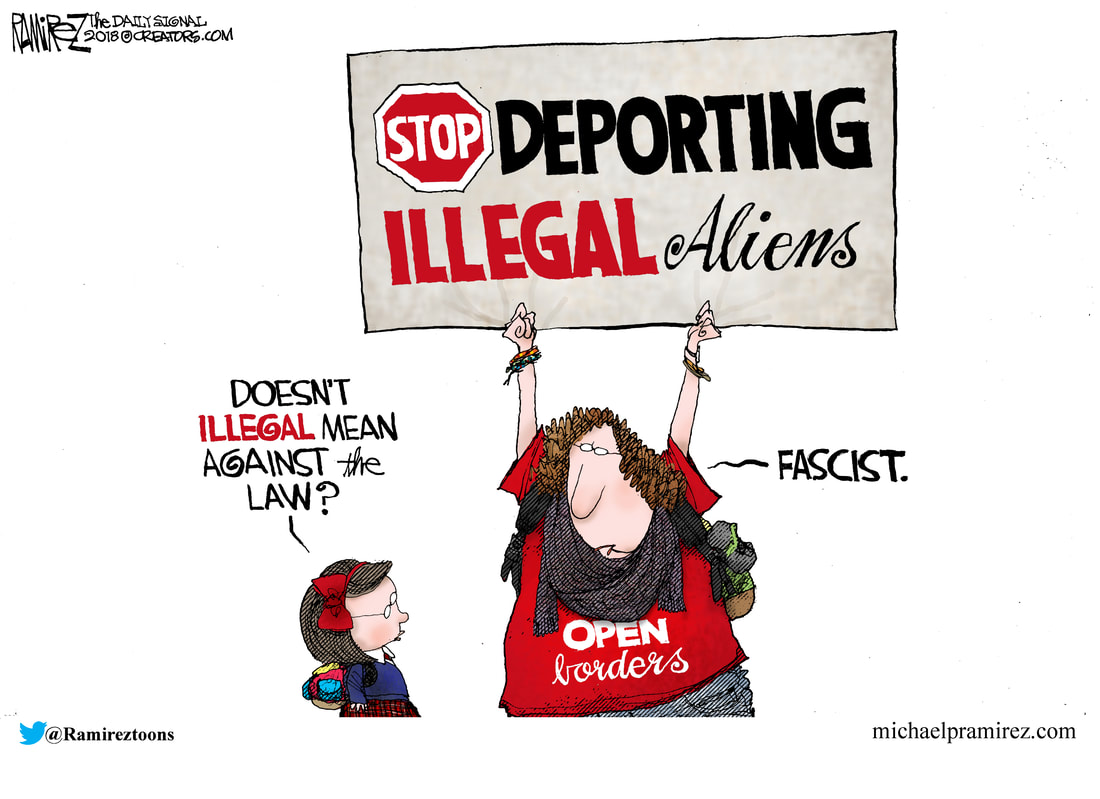 Image result for Stop deporting illegal aliens cartoon Ramirez""
