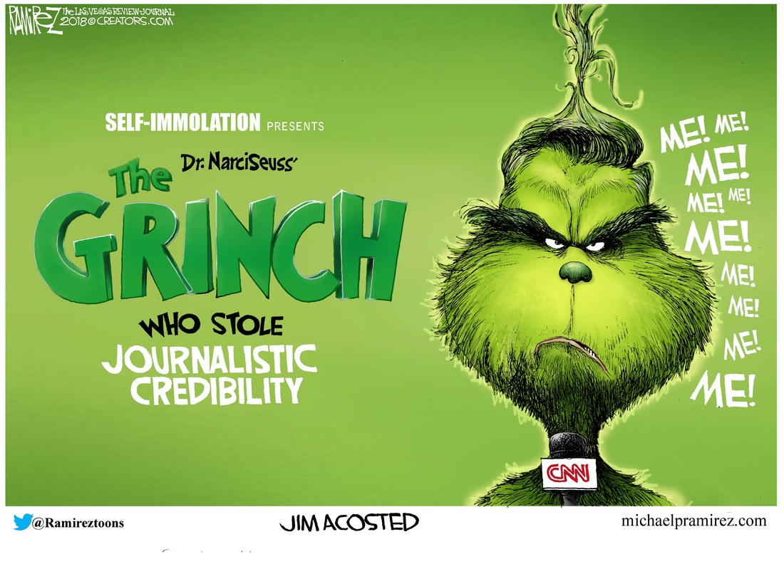 CNN and the Acosta grinch who stole journalistic credibility